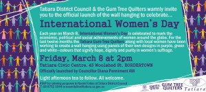 International Women's Day Invitation 2013